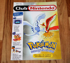 2001 Club Nintendo Magazine Kirby 64 Banjo Tooie Zelda Mario Donkey Kong Pinball