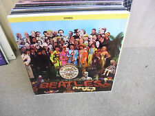 The BEATLES Sgt Peppers Lonely Hearts Club Band LP EX Capitol Rainbow w/INSERT
