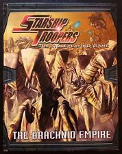 STARSHIP TROOPERS The Roleplaying Game THE ARACHNID EMPIRE MGP 9205 D20 HC NEW!