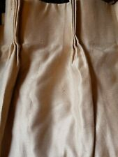 "JCPenny Home Collection Pinch Pleated Supreme Drape Panel 63"" Wide x 84""L Gold."