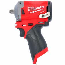 "Milwaukee M12FIW38-0 12V Li-ion FUEL 3/8"" Stubby Impact Wrench Body Only"
