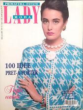 LADY MODA. PRIMAVERA ESTATE N.15 1987
