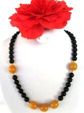 Handgefertigte Halsketten und Anhänger mit Bernstein Echtschmuck für Damen