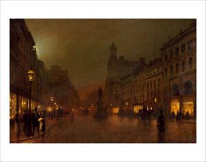 Grimshaw - Manchester Royal Exchange fine art giclee print poster various sizes