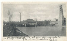Chambersburg PA * Wolf Lake and RR Tracks  1906  Franklin Co.