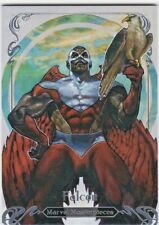 Falcon - 2018 Upper Deck Marvel Masterpieces, Level 2, /1499