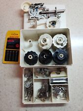Singer  Plastic  Storage Sewing Storage Box w/ Accessories and discs
