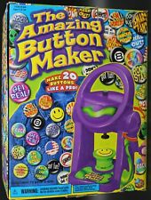 The Amazing Button Maker Toy for kids by Cartoon Network Collectible