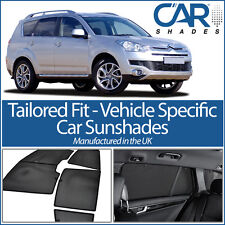 Citroen C Crosser 5 door SUV 07-12 UV CAR SHADE WINDOW SUN BLINDS PRIVACY GLASS