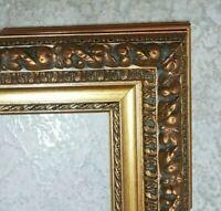 Cornice in legno ORO FOGLIA X quadri,stampe,poster LAR.8.5. ALT.5 BAT.2.2 CM