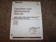 Cat Caterpillar Backhoe Loader 420E 430E 432E Owner Operation Maintenance Manual