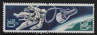 US Scott #1331-32, PAIR 1967 Space 5c FVF MNH