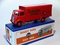 Camion GUY VAN transports Slumberland - ref 514  de dinky toys atlas