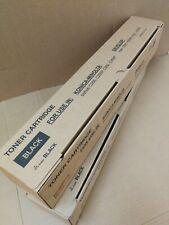 Two Generic Konica Minolta BIZHUB C250 / C252 Black Toner TN210K 8938-505