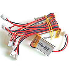 10 pcs 3.7V 200mAh LiPo Polymer Battery 402030 JST 2.54mm For Mp3 Bluetooth GPS