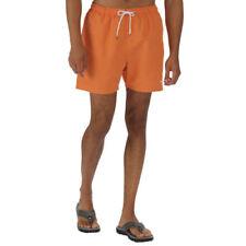 Ropa de baño de hombre naranja de poliéster