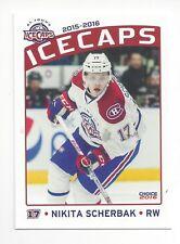2015-16 St. John's IceCaps (AHL) Nikita Scherbak (Montreal Canadiens)