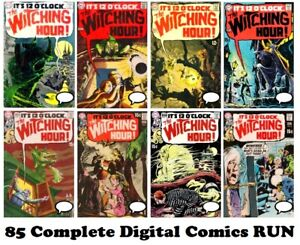 The Witching Hour (DC Comics) #1-85 Full run comic books on DVD 1969