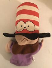 Very Rare SOUTH PARK Plush 'MR HAT' Hand Puppet Soft Toy Collectible