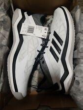 Adidas Speed Trainer 4 CG5134 Baseball Turf Shoes White Men's Size 9.5 NIB $120
