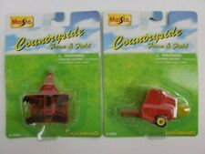 Vintage Maisto Countryside Diecast Lot of 2 Tractor Accessories 1998 New