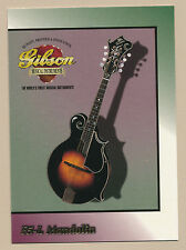 F5-L Mandolin - Gibson guitar card series 1 # 50