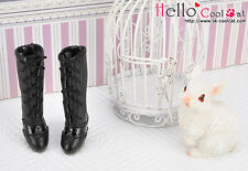 ☆╮Cool Cat╭☆【07-02】Blythe Pullip  High Heel Boots.Black