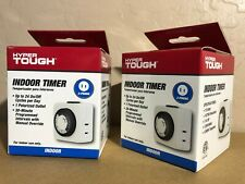 X2 HYPER TOUGH Indoor Timer 24-Hour Daily use (1 POLARIZED OUTLET)