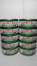 BUMBLE BEE CHUNK LIGHT TUNA IN WATER (PACK OF 10 CANS) NET WT 5 OZ EACH 04/2018