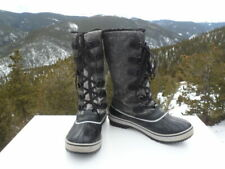 Sorel Winter Waterproof Black Boots N[LL3200-010 Size 8