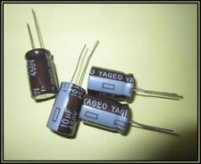 Yageo Elko Kondensator 10µF 450V 105° ra.5  13x20mm  4 Stück