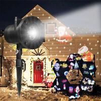 Christmas LED Laser Moving Projector Garden Lawn Landscape Outdoor Light Decor