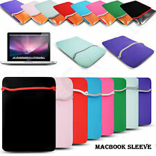 "Neoprene Soft Sleeve Pouch Case Cover For Apple Macbook Air Pro 11.6"" 13.3 15.4"""