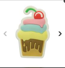 4 Crocs Jibbitz Cupcake Charms