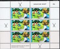 NEW ZEALAND 1971 HEALTH MINI SHEETS