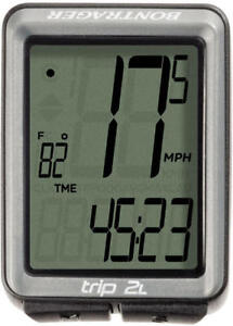 BONTRAGER Trip 2L Wired Computer Speed Odometer Dual Wheel Size Cycling Road MTB