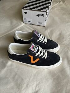 Vans Vault Og Epoch Lx Asphalt Marigold M 10 Gray Orange Sport Style 73