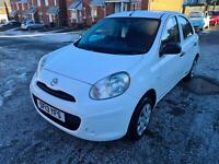 2013 Nissan Micra 1.2 Visia 5dr only 58000 miles  HATCHBACK Petrol Manual