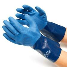Atlas Showa 720 Chemical Resistant Nitrile Work Gloves - ANY SIZE! FREE SHIP!