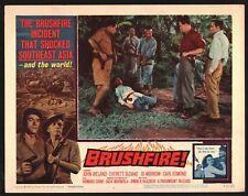 BRUSHFIRE Lobby Card (Fine+) 1961 John Ireland Everett Sloane 15206