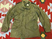 Vintage M-65 Field Jacket Small Regular USMC 1969 Named Allen Overall Co Vietnam
