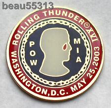 2003 WASHINGTON DC ROLLING THUNDER POW MIA VEST JACKET PIN