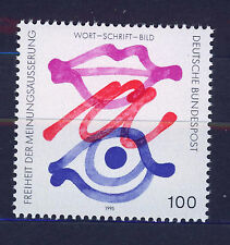 ALEMANIA/RFA WEST GERMANY 1995 MNH SC.1889 Freedom expression