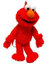 Sesame Street Elmo Kids Travel Plush Backpack Bag Plaza Sesamo Mochila Peluche