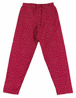 JACADI Girl's Affoler Lacquered Red/White Straight Trousers Size 8 Years $32 NWT