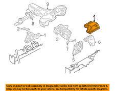 VW VOLKSWAGEN OEM 99-05 Jetta-Engine Motor Mount Left 1J0199555AH