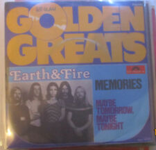 "Earth & Fire, Golden Greats ""Memories, Maybe Tomorrow"", 7"" Vinyl"