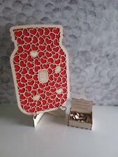 Guest book matrimonio libro degli ospiti dropbox legno nozze barattoli cuore