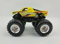 Hot Wheels Monster Jam Truck Shockwave Metal Yellow 1:64