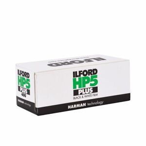 ILFORD : HP5+ FILM 120, 400 ISO